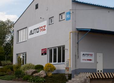 AutoRZ sídlo firmy