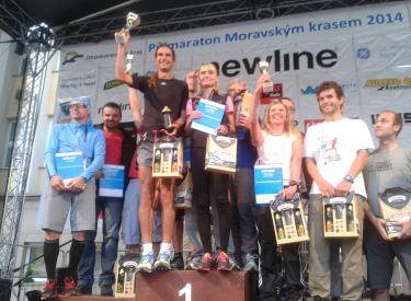 AutoRZ tým na půlmaratonu Moravským krasem