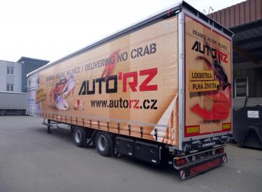 tahač MAN TGX smega návěsem Schwarzmüller